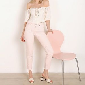 Final price! Levi's Wedgie Fit Jeans Creole Pink